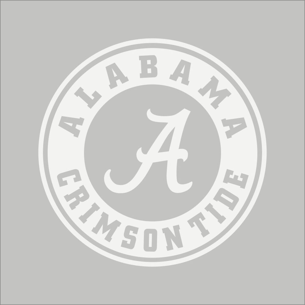 Alabama Crimson Tide 2 College Logo 1c Vinyl Decal
