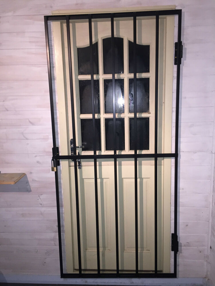 Steel Security Door Gate Grill 1800mm X 900mm Unpainted
