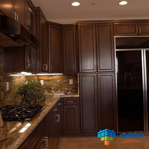 All solid wood cabinets dark kitchen cabinets 10x10 rta for All wood kitchen cabinets