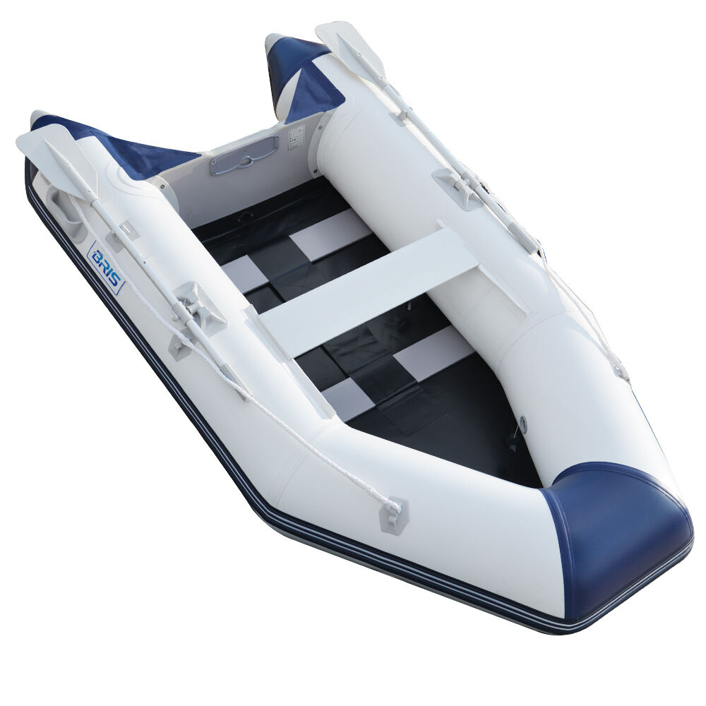 2.7M Inflatable Boat Inflatable Pontoon Dinghy Raft Boat ...