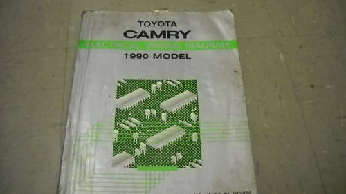1990 Toyota Camry Electrical Wiring Diagram