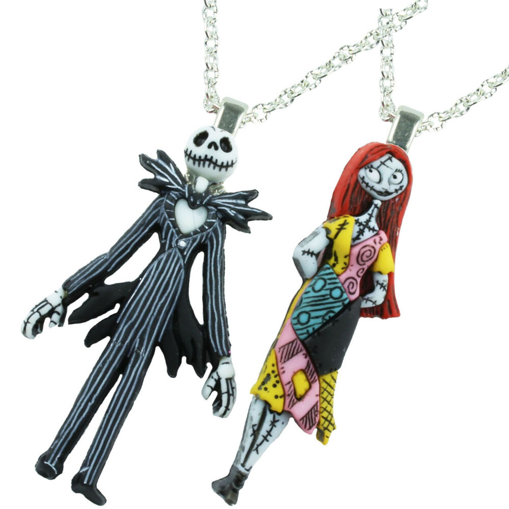 Cool Nightmare Before Christmas Gifts: NIGHTMARE BEFORE CHRISTMAS CHARACTER NECKLACE QUIRKY