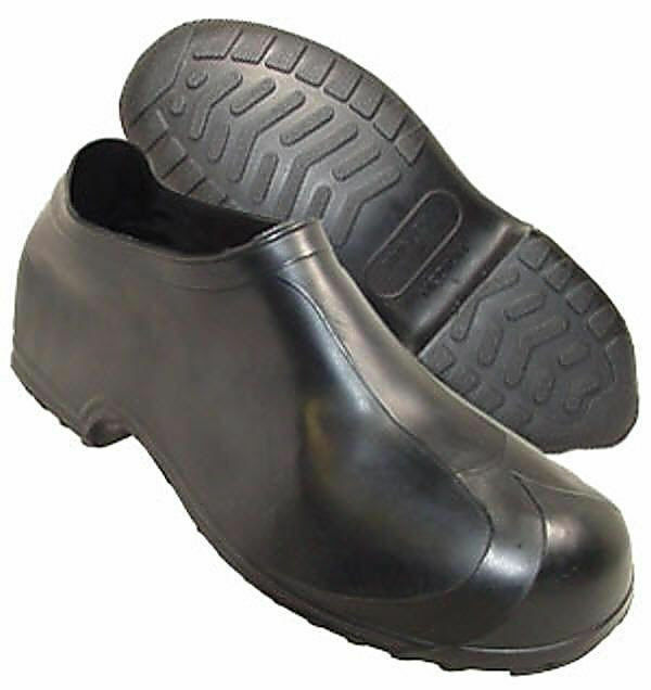 0f5cf3a3526f0 Details about (2) pair TINGLEY 1300M MEDIUM MENS HI TOP BLACK RUBBER  OVERSHOES