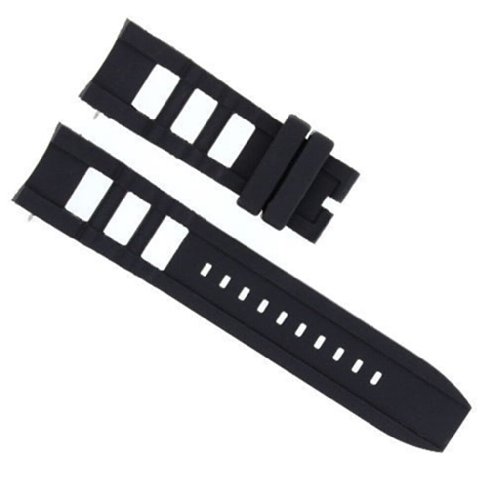 ba1c83a23b3 Details about SILICONE RUBBER WATCH BAND STRAP FOR INVICTA SIGNATURE II  RUSSIAN DIVER BLACK  3