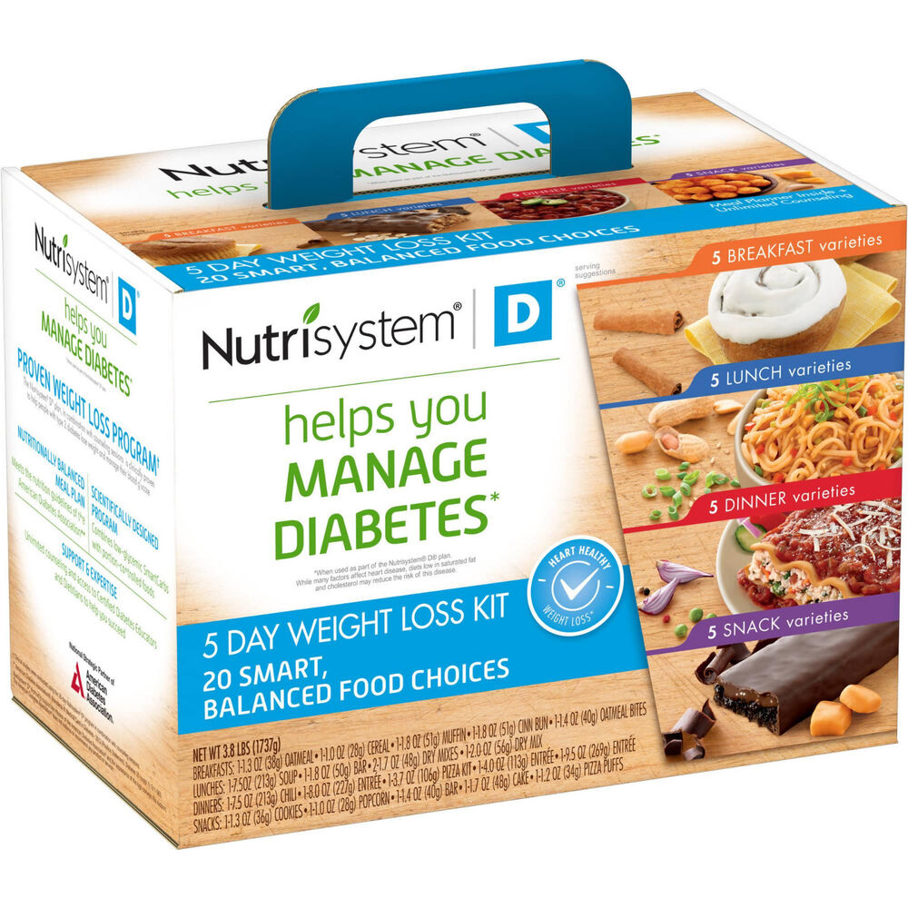 Nutrisystem D Diabetic Diet Plan – Type 2 Weight Loss Plan