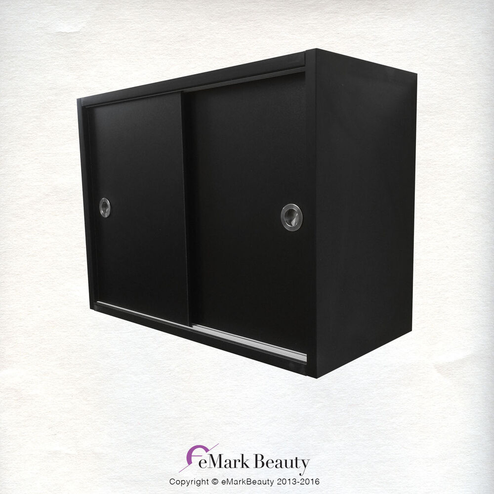 Upper towel storage cabinet for beauty salon shampoo bowl and spa backwash area ebay - Towel cabinets for salon ...