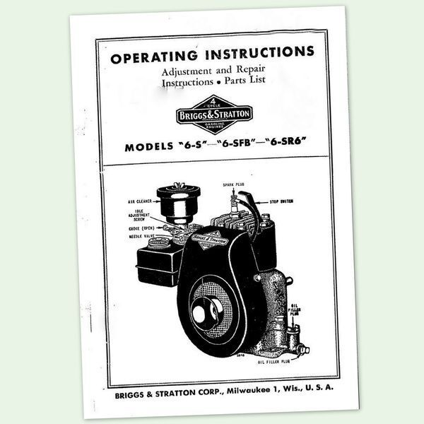 briggs and stratton 6 s engine operators repair parts briggs and stratton 5hp quantum engine service manual briggs and stratton 5hp quantum engine service manual