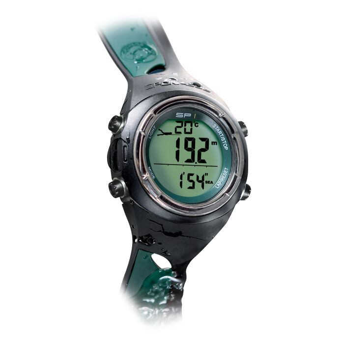 Sporasub sp1 free diving spearfishing computer scuba dive - Computer dive watch ...