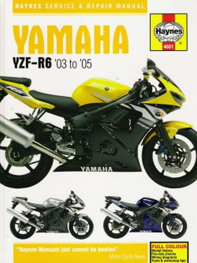 2003 2004 2005 yamaha yzfr6 yzf r6 haynes repair service. Black Bedroom Furniture Sets. Home Design Ideas