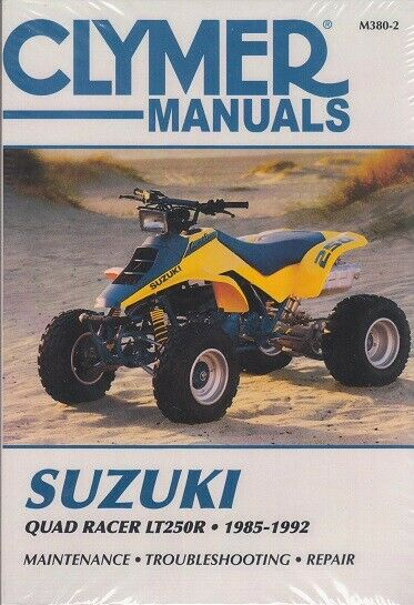 suzuki lt250r 1988 1992 service repair workshop manual