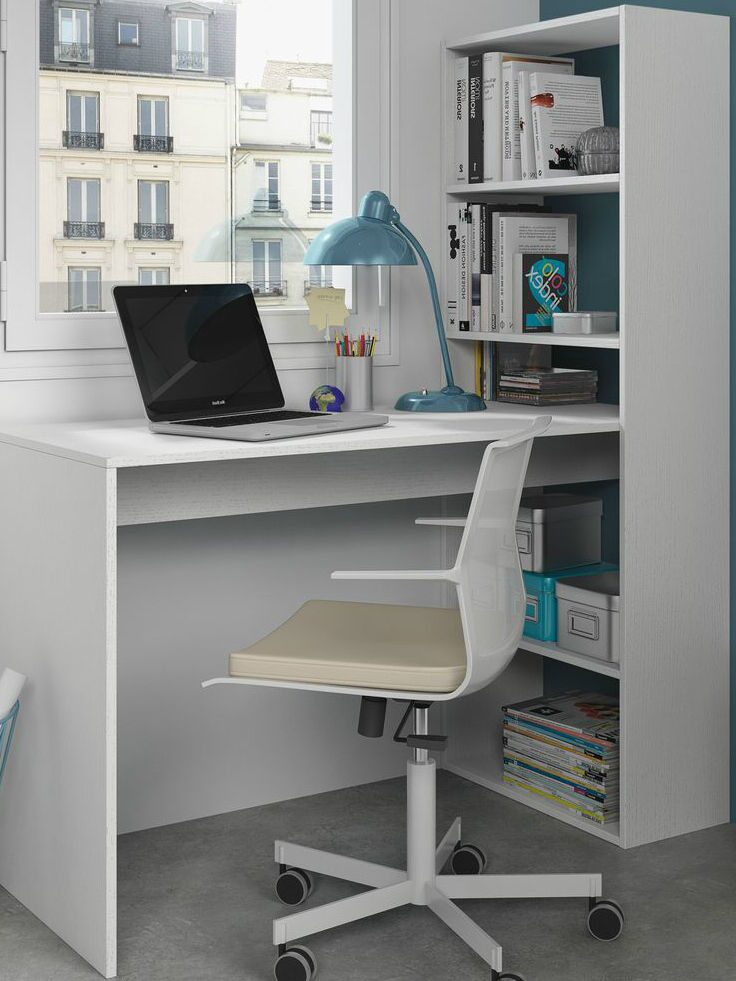Corner puter Desk White Home fice Furniture Study