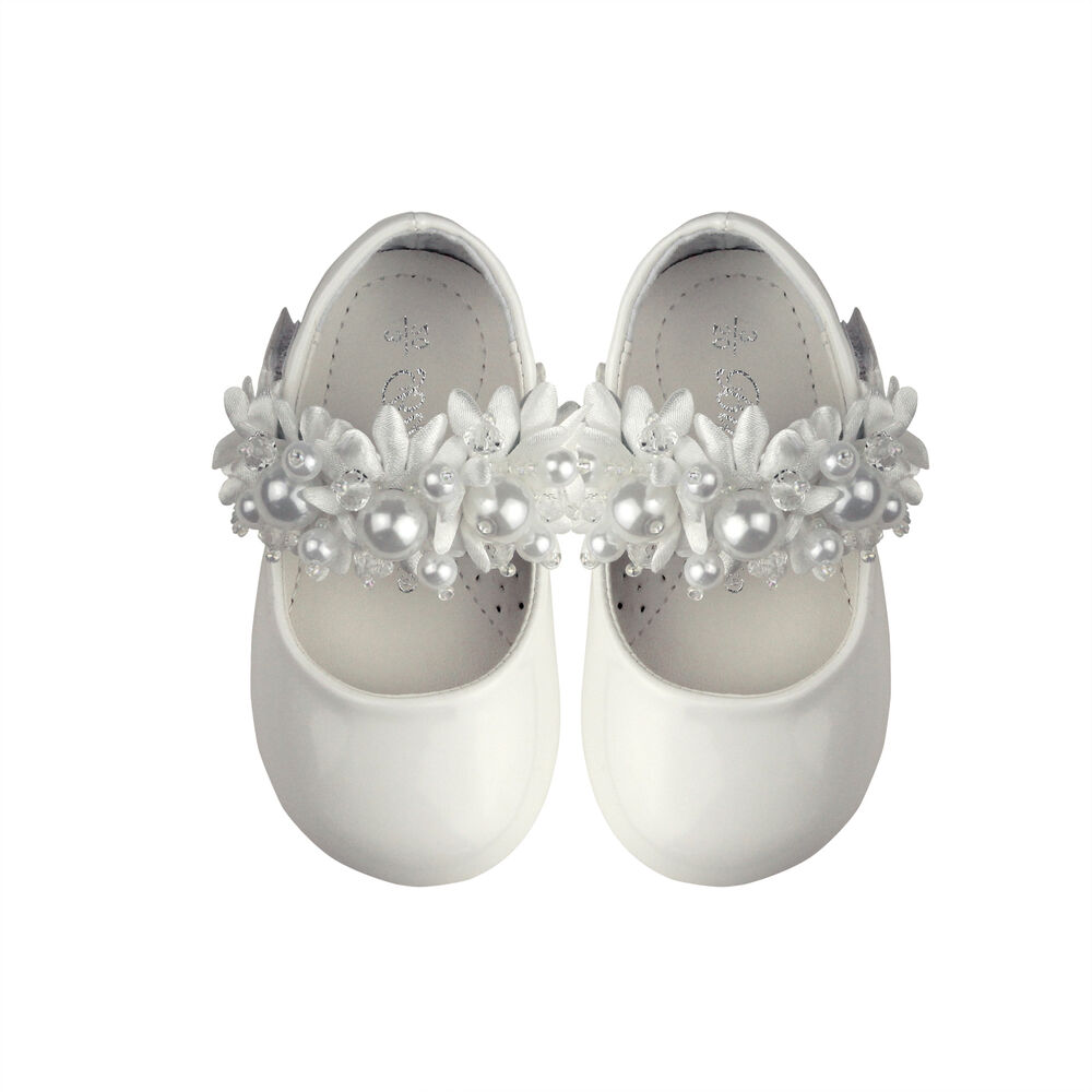 Girls Formal Shoes Toddler Mary Janes Wedding Flower Girl Shoes Party