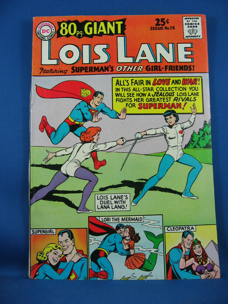 Superman girl friend lois lane eighty page giant 14 vf 1965 ebay thecheapjerseys Gallery