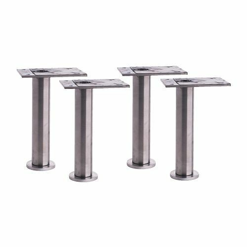 Ikea 4x capita stainles steel kitchen cabinet legs for for Kitchen cabinets with legs