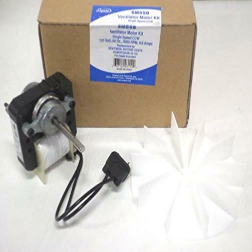 Universal Bathroom Fan Replacement Electric Motor Kit With
