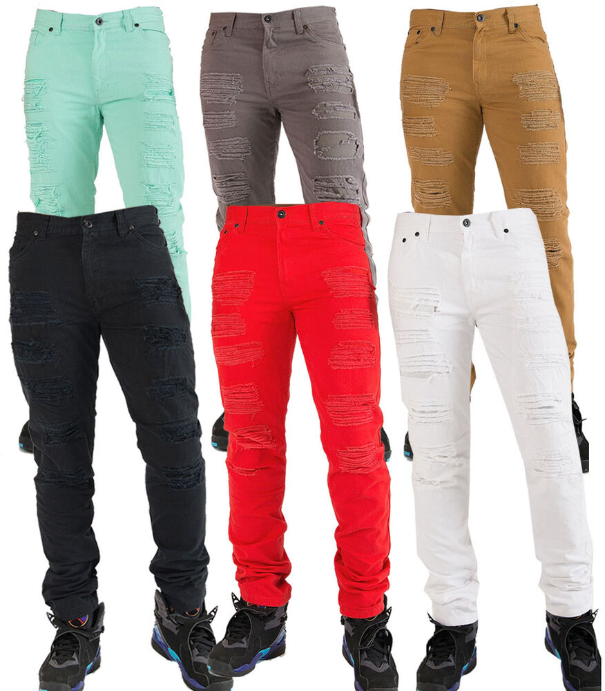 XXX RUDE 30 Inch Inseam Bright Red Wash Skinny Fit Jeans $ $ Online Exclusive! Having a tight fit is important when you are looking for the right fit for skinny jeans. This collection of men's skinny jeans will keep you happy for a long time. We have the choices you are looking for. Size 40 38 36 34 32 30 28 26 24 Length.