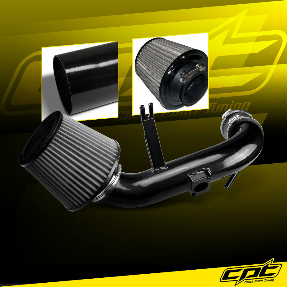 08 13 Lancer 2 0l 4cyl Non Turbo Black Cold Air Intake