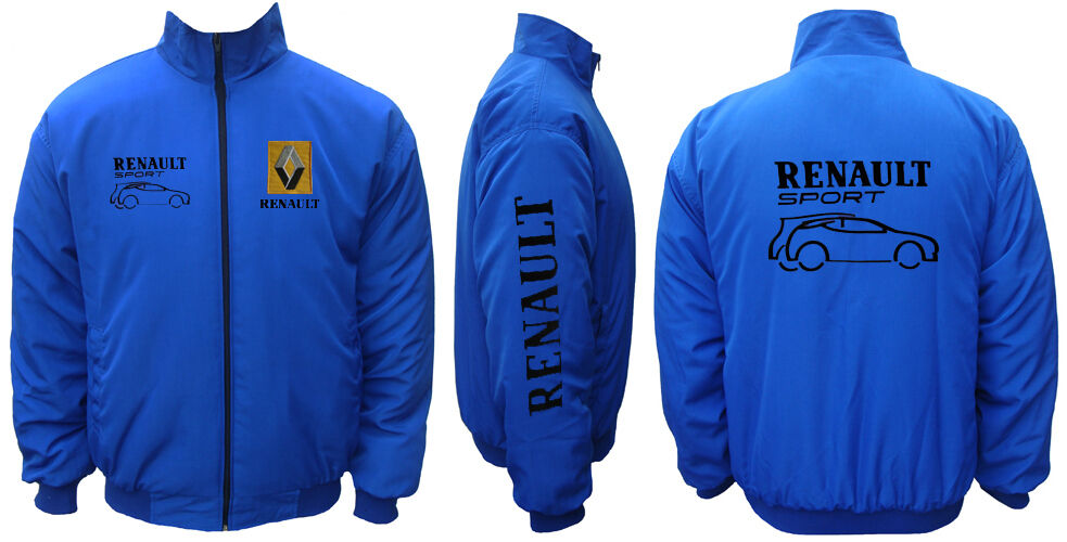 renault sport jacket veste blouson bleu ebay. Black Bedroom Furniture Sets. Home Design Ideas