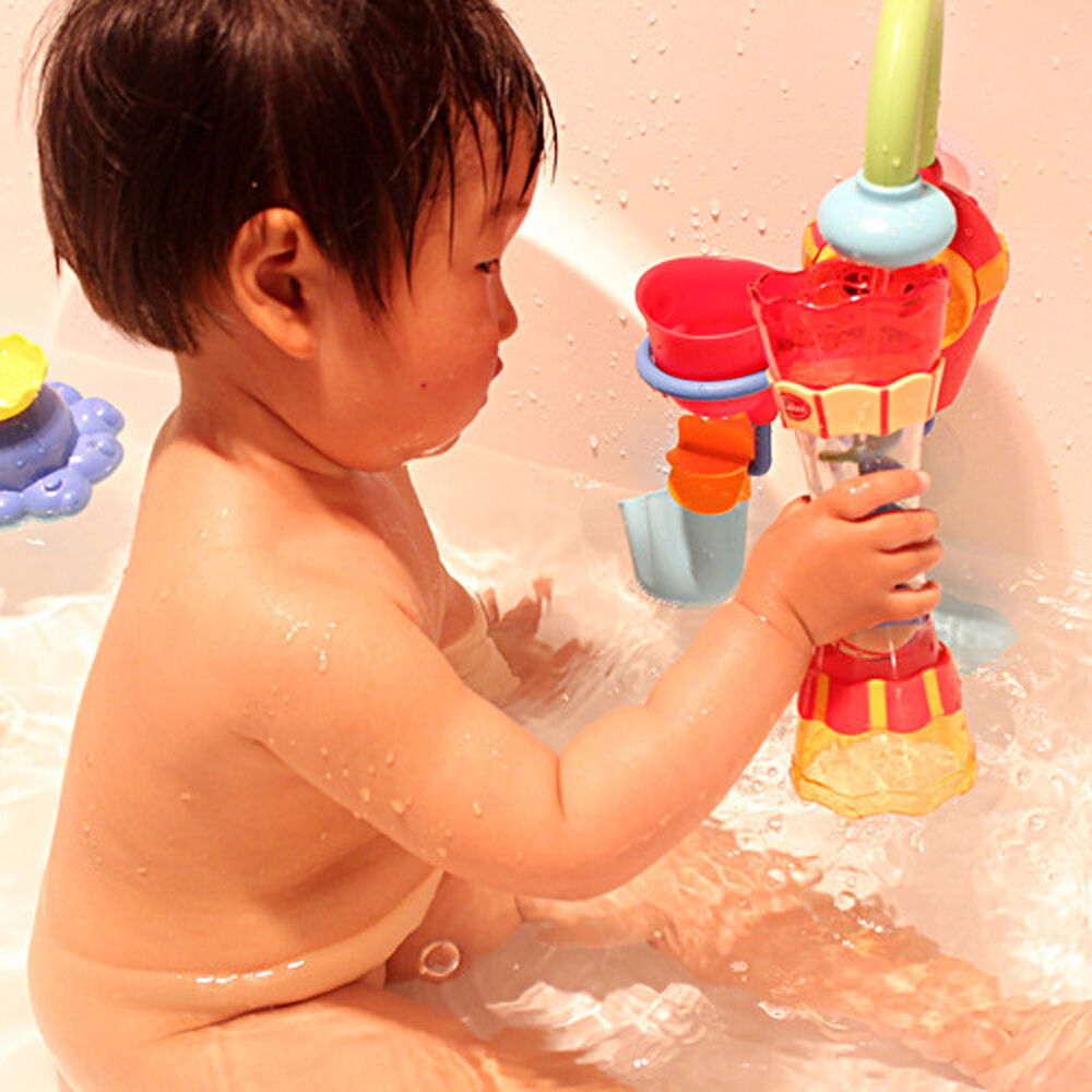 Toys For Water : Fun toys baby children bath toy water whirly wheel tube