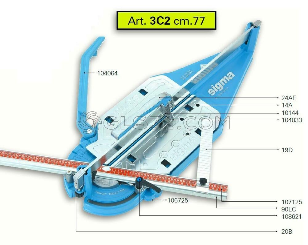 Spare Parts And Accessoires For Tile Cutter Sigma 3c2 Ebay