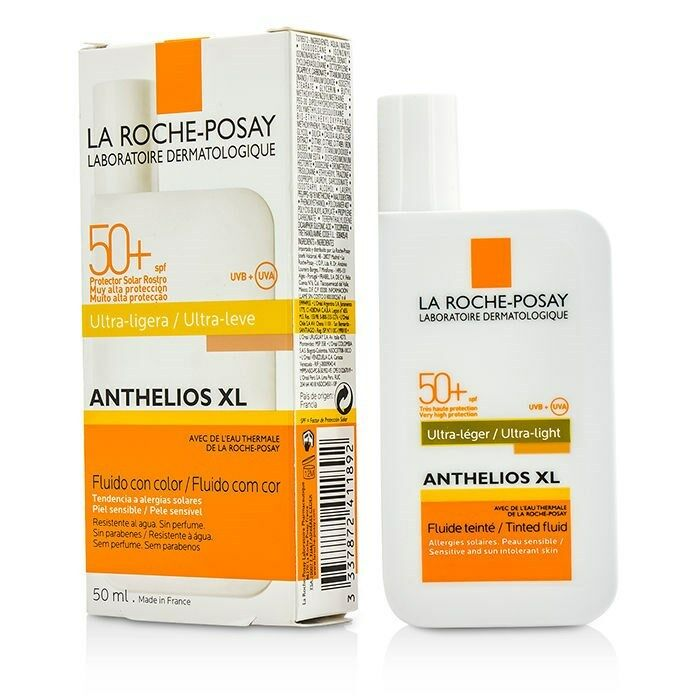 la roche posay anthelios xl spf 50 tinted face sunscreen ultra light. Black Bedroom Furniture Sets. Home Design Ideas