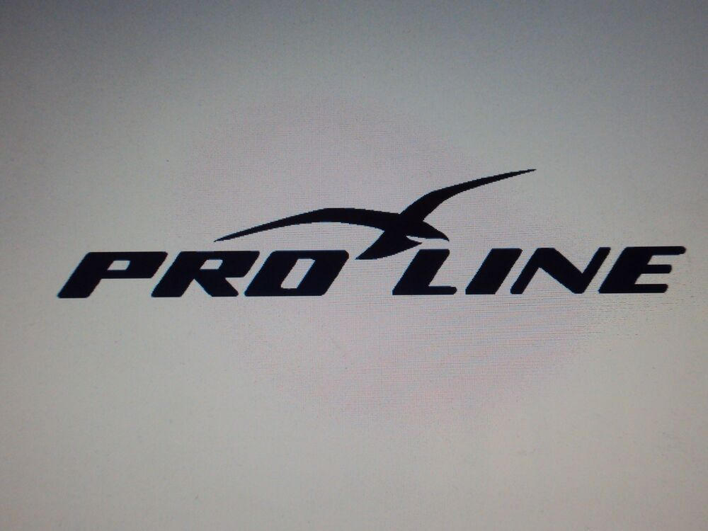 Pro Line Boat Decals Many Colors Available Marine Vinyl