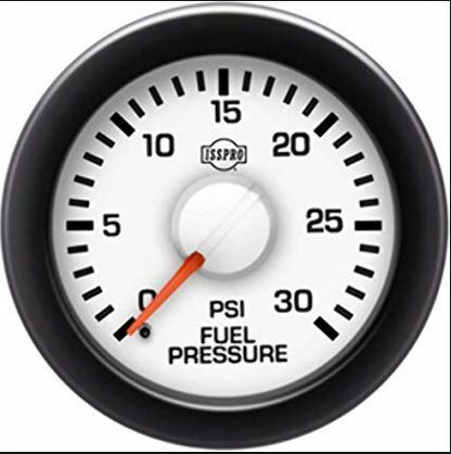 Electronic Gas Gauge : Isspro r ev series fuel pressure electronic gauge