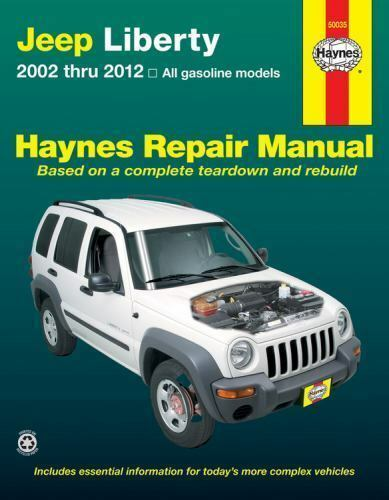 2002 2012 jeep liberty repair manual 03 04 05 2006 2007. Black Bedroom Furniture Sets. Home Design Ideas