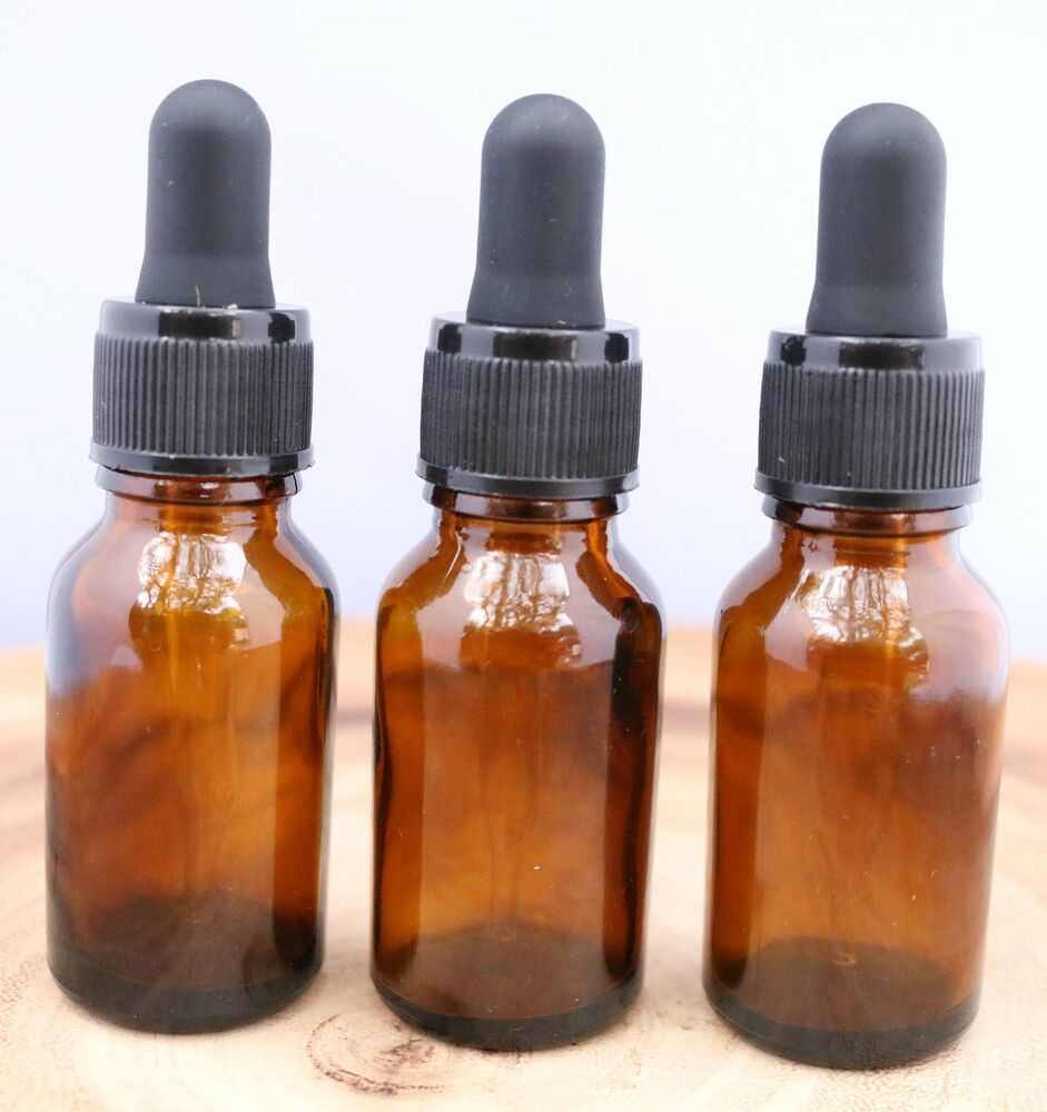 Ml Amber Glass Dropper Bottles