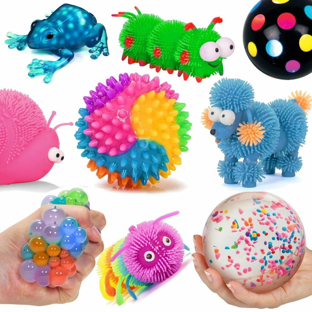 Sensory Toys For Adults : Fun sensory toys fiddle fidget stress autism