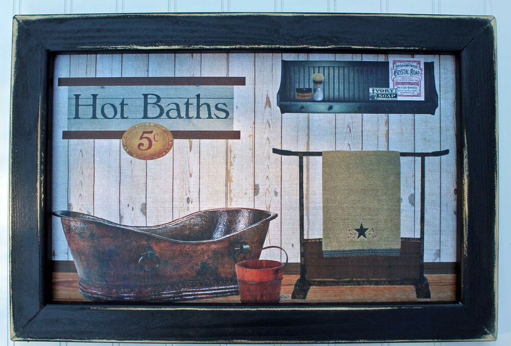 Country Bathroom Decor: Primitive Rustic Southwest Country Farm House Bathroom