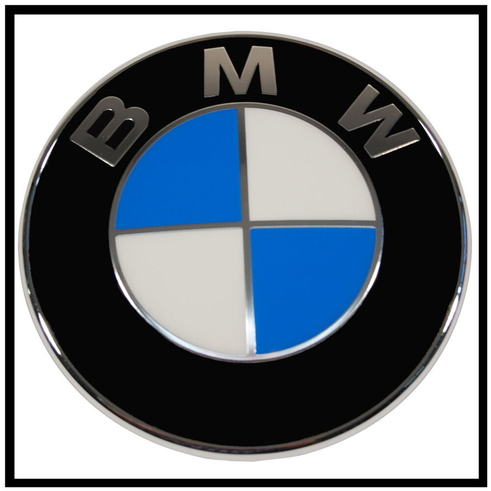 original bmw emblem logo heckklappe 51147166445 1er e88. Black Bedroom Furniture Sets. Home Design Ideas