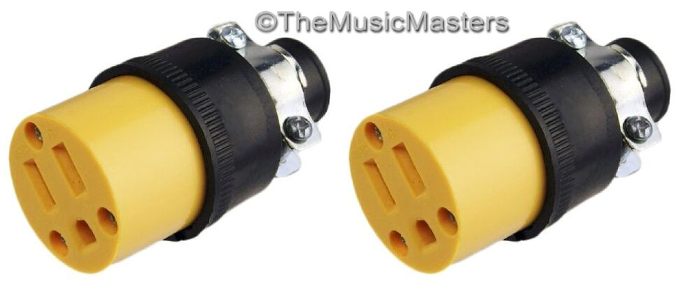 Extension cord replacement electrical ac power socket