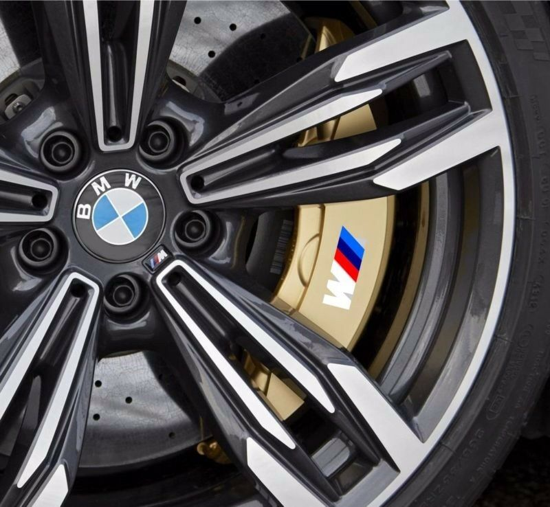 4x Bmw M Tec Break Caliper Sticker Decal Logo F10 F20 F30