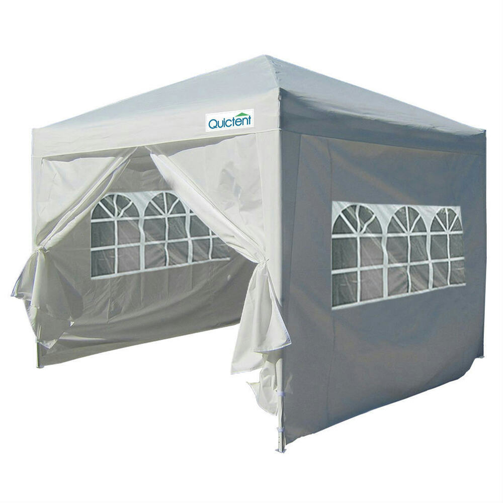 Quictent Silvox 174 8 X8 Ez Pop Up Canopy Gazebo Party Tent