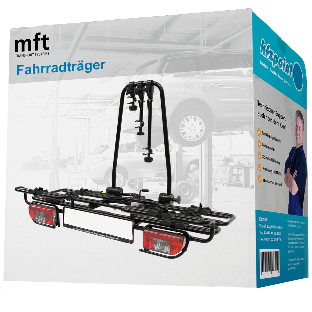mft fahrradtr ger multi cargo2 family f r die. Black Bedroom Furniture Sets. Home Design Ideas