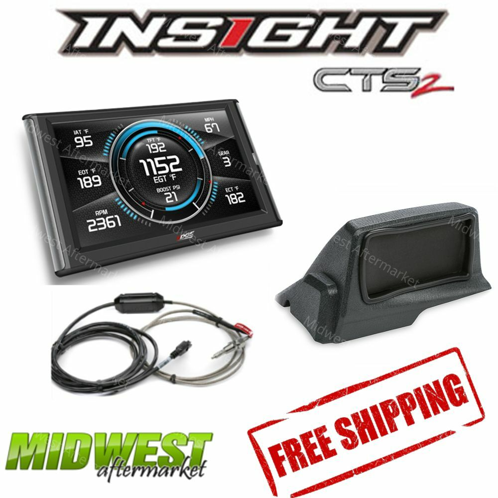 Edge Insight Cts2 With Egt Probe Amp Dash Mount For 2006