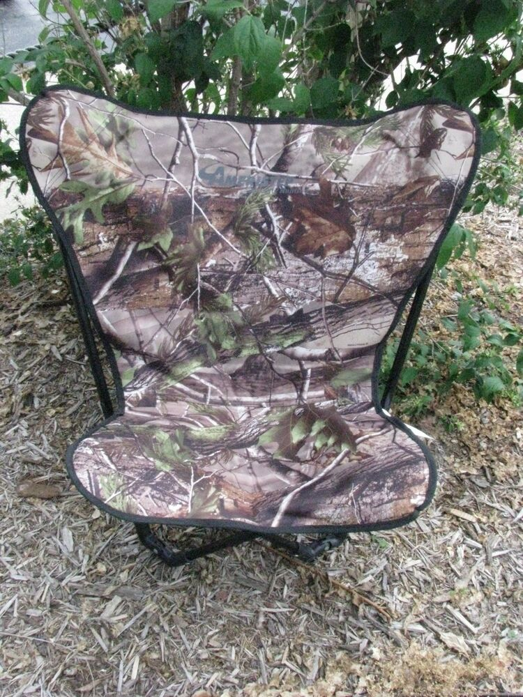 Ameristep Turkey Stopper Chair Realtree Camo 10109 Ebay