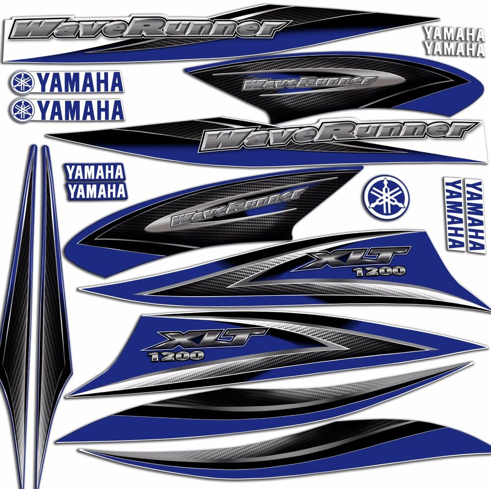 Yamaha Waverunner Decals