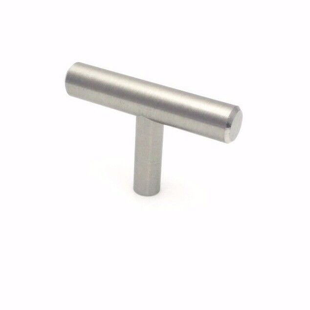 Brushed nickel kitchen cabinet drawer handle pull knob for Brushed nickel hinges for kitchen cabinets