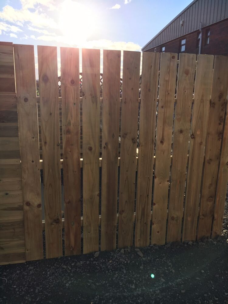 Wooden Fence Panels 8ft 2 4m 6ft 1 8m Garden Arched