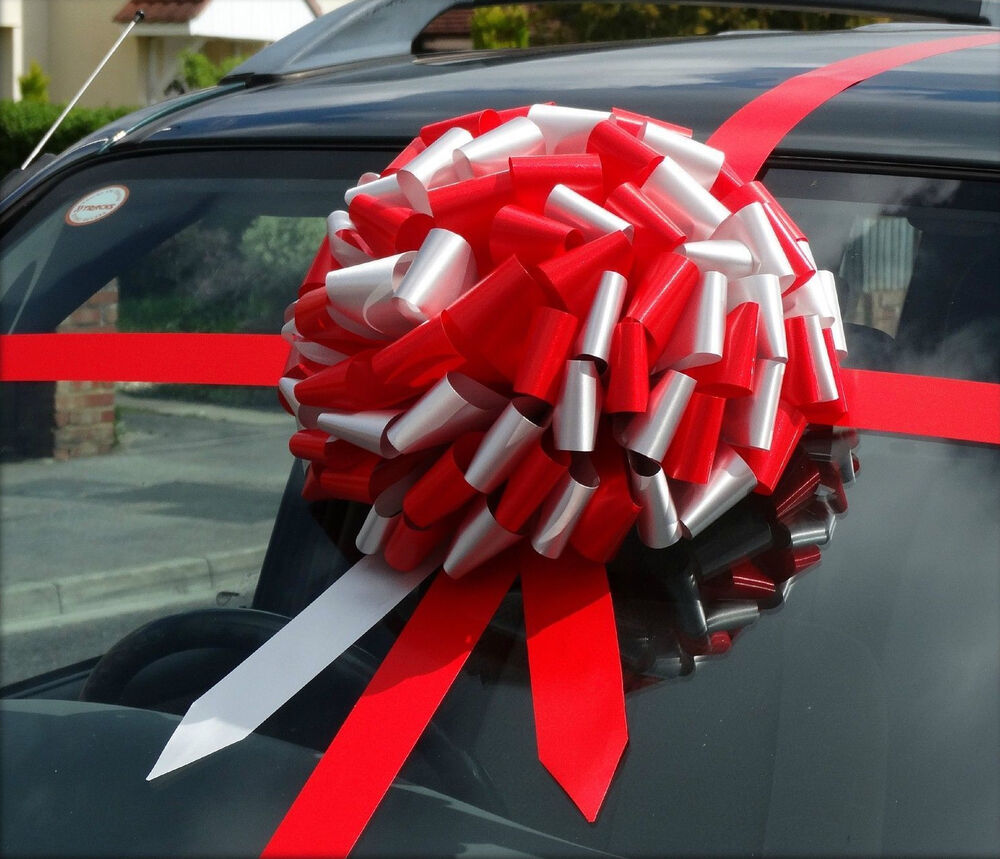 Big Bow Giant Car Bow, Huge Large Present ,Gift Bow