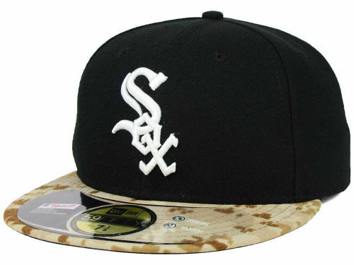 Details about CHICAGO WHITE SOX Memorial Day Stars   Stripes New Era  59FIFTY HAT 7 1 8 CAMO 2fd6b763b94