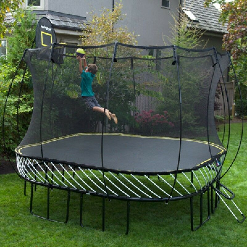 Brand new springfree trampoline safe children jump for Springfree trampoline