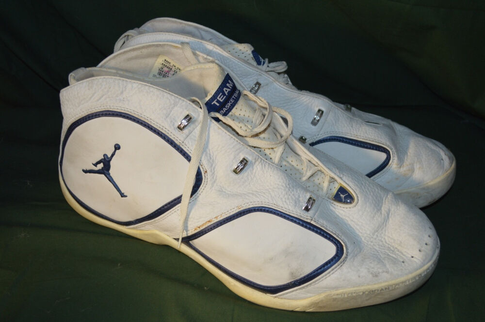 cheap for discount 0d0b3 ab001 VTG NIKE AIR JORDAN TEAM DEUCE-TREY 308181-141 Basketball sneakers shoes SZ  18 ...