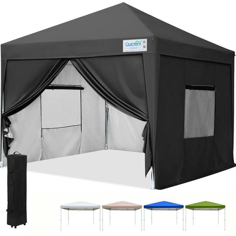 Quictent Privacy 174 10 X10 Screen Curtain Ez Pop Up Tent