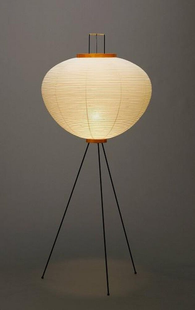 new isamu noguchi akari 10a stand light lamp japan ebay. Black Bedroom Furniture Sets. Home Design Ideas