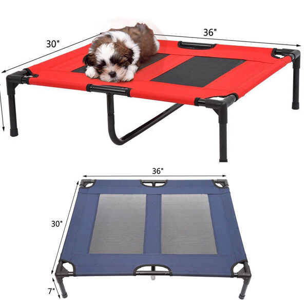 Tenive Large Indoor Outdoor Elevated Portable Pet Sleeping