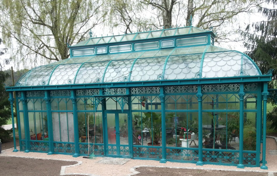 gartenhaus orangerie pavillon gew chshaus gazebo wintergarten ebay. Black Bedroom Furniture Sets. Home Design Ideas