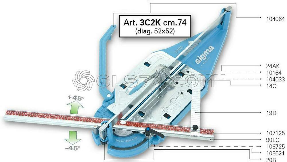 Spare Parts And Accessoires For Tile Cutter Sigma 3c2k Ebay